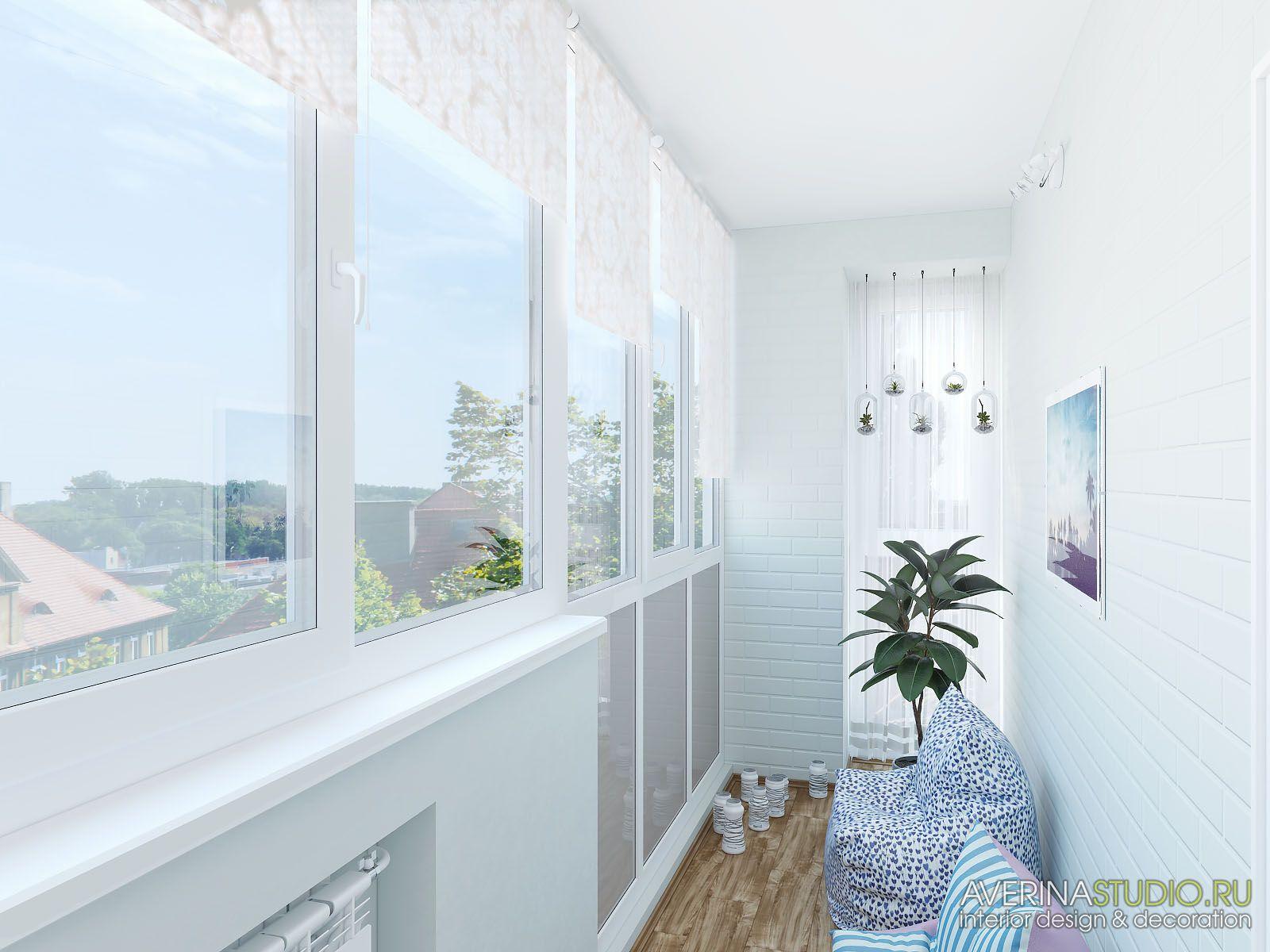 Дизайн интерьера трехкомнатная квартира. г. наб. Челны.